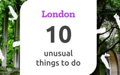 A day in London – 10 unusual things to do in 24 hours