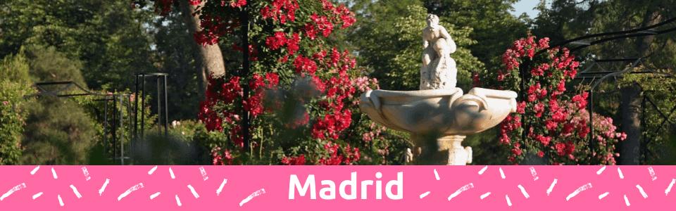4 Best Hidden Parks and Gardens in Madrid